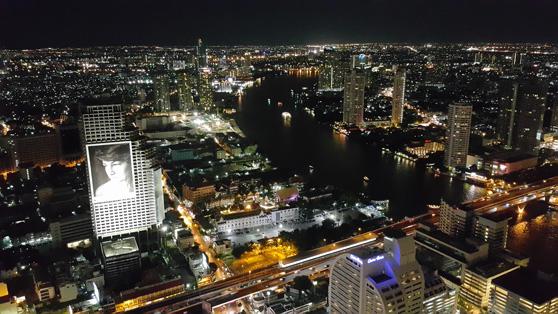 Bangkok vista de cima no Sirocco Bar