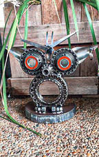 Metal Art Personalised Gifts & Sculptures Home Decoration Owl