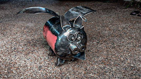 Metal Art Sculptures for Home & Garden