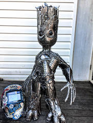 Metal Art Personalised Gifts & Sculptures Home Decoration Groot