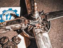Metal Art War & Replicas Sculptures mustang propellers