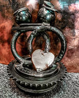 Metal Art Personalised Gifts & Sculptures Heart Couples