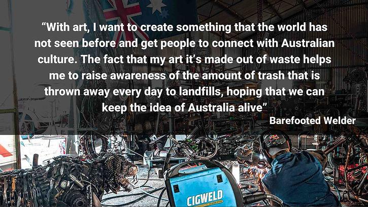 keepaustraliaclean-barefooted-welder-met