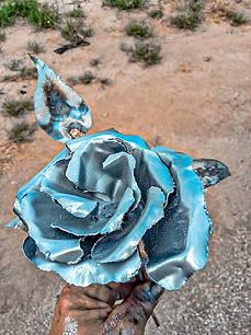 Custom-made Metal Art Handmade Roses