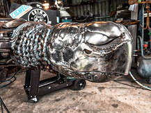 Tank the great sea turtle Barefooted Welder Metal Art Sculpture Australia