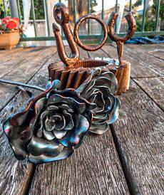 Metal Art Personalised Gifts & Sculptures Roses