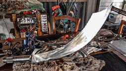 Metal Art War & Replicas Sculptures sword