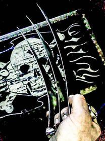Metal Art War & Replicas Sculptures wolverine