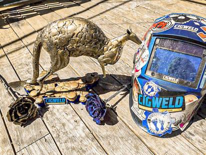 Metal Art Sculptures of Wildlife Creatures Australia