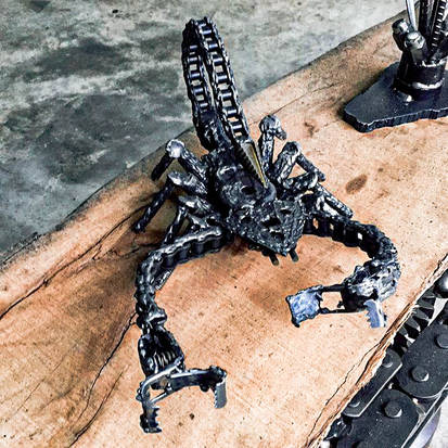 Metal Art Personalised Gifts & Sculptures Home Decoration Scorpion