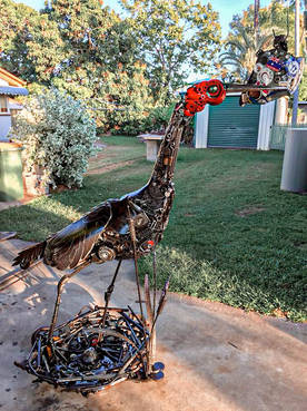Metal Art Personalised Gifts & Sculptures Home Decoration Brolga