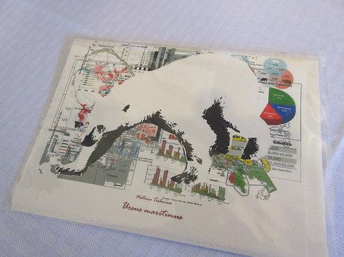Polar Bear - Natura Technica Blank Card and Envelope