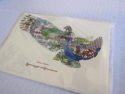 California Condor - Natura Technica Blank Card and Envelope