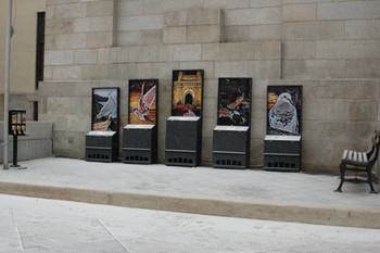 The Pigeon Saints of the Book of Columba - Installation View