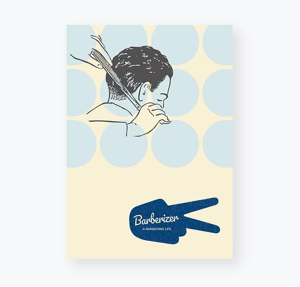Barber poster design