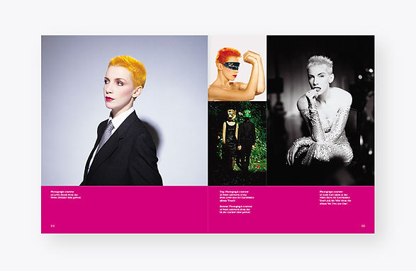 Annie Lennox programme design