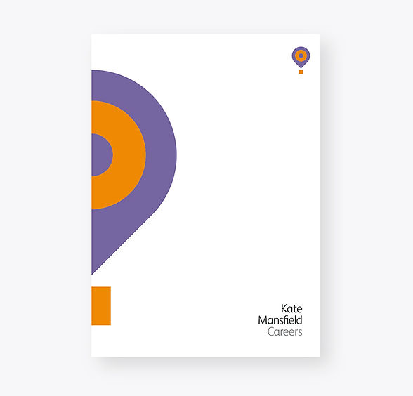 Kate Mansfield folder design