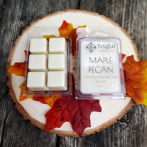 Maple Pecan Soy Melts