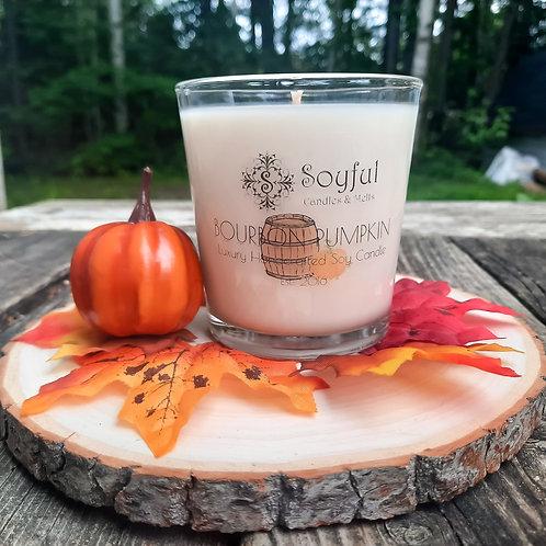 Bourbon Pumpkin Soy Candle 13 oz