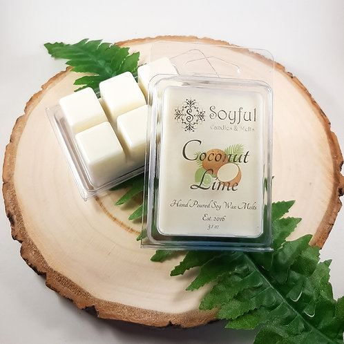 Coconut Lime Soy Melts