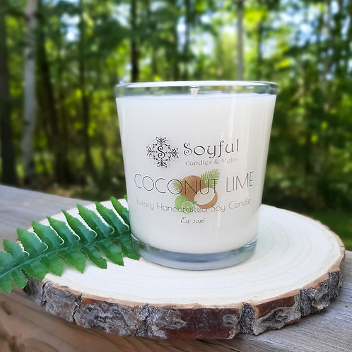 Coconut Lime Soy Candle 13 oz