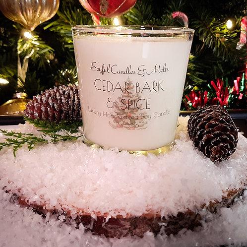 Cedar Bark & Spice Soy Candle 13 oz