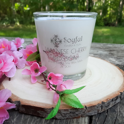 Japanese Cherry Blossom Soy Candle 13 oz