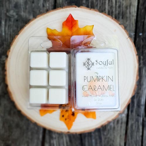 Pumpkin Caramel Soy Melts