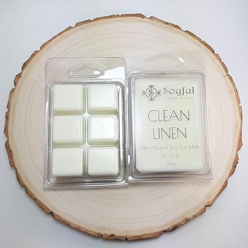 Clean Linen Soy Melts