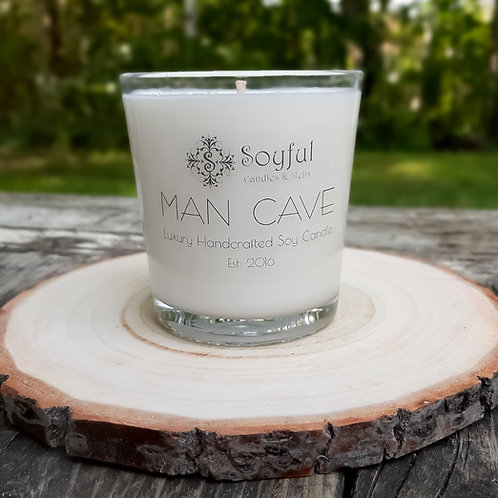 Man Cave Soy Candle 13 oz