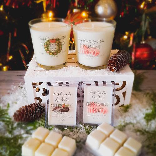 Holiday Candles & Melts Gift Set 3