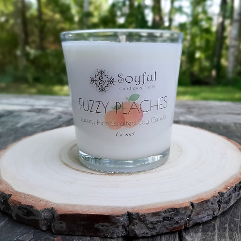 Fuzzy Peaches Soy Candle 13 oz