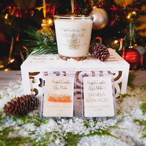Holiday Candles & Melts Set 1