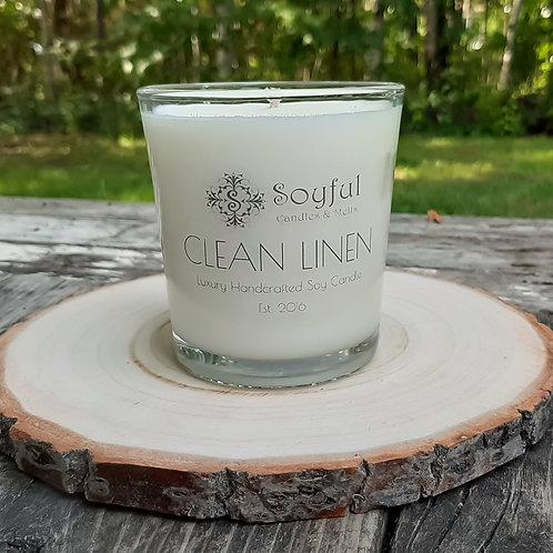Clean Linen Soy Candle 13 oz
