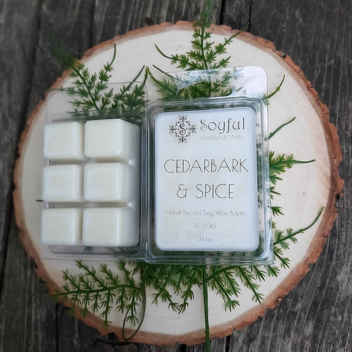Cedarbark & Spice Soy Melts