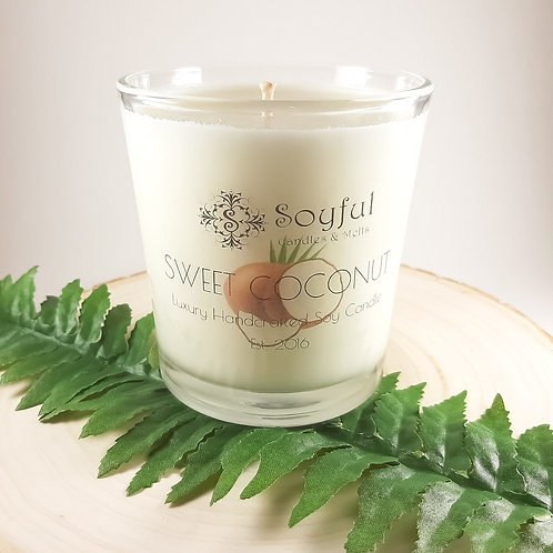 Sweet Coconut Soy Candle 13 oz