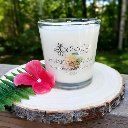Jamaican Bay Rum Soy Candle 13 oz