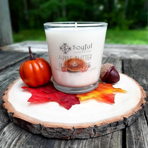 Apple Butter Pumpkin Pie Soy Candle 13 oz