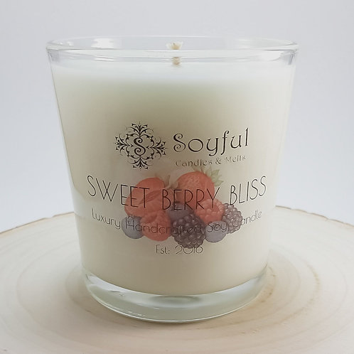Sweet Berry Bliss Soy Candle 13 oz