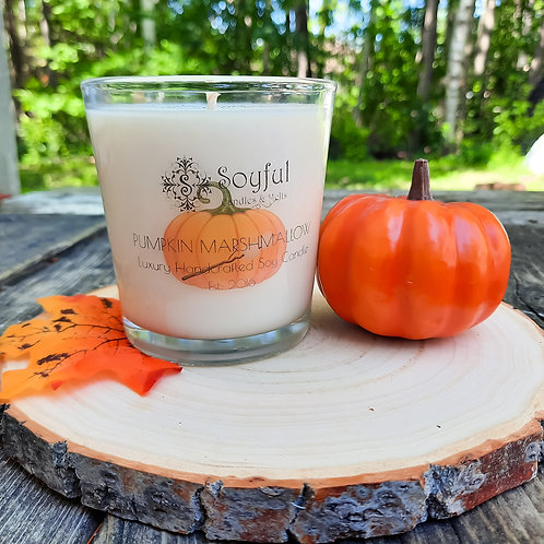 Pumpkin Marshmallow Soy Candle 13 oz