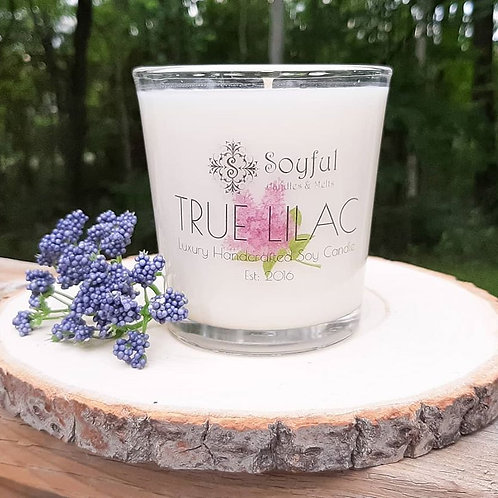 True Lilac Soy Candle 13 oz