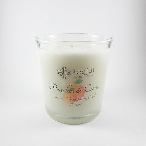 Peaches & Cream Soy Candle 13 oz