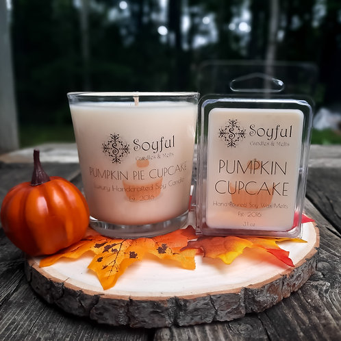 Pumpkin Pie Cupcake Soy Candle 13 oz