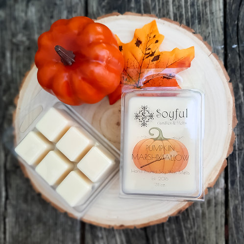 Pumpkin Marshmallow Soy Melts