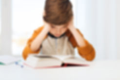 A child with dyslexia struggles to do his schoolwork. He can't read. He has dyslexia. He wants help to learn how to read. He needs an Orton Gillingham approach which will help him learn how to read. The Barton Reading and Spelling program is an excellent system that will help a child to succeed in reading.