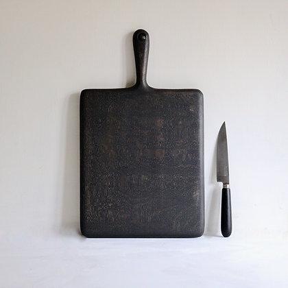 Simple Board in Blackened Oak - Large