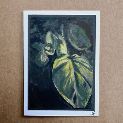 'House Plant' Greetings Card