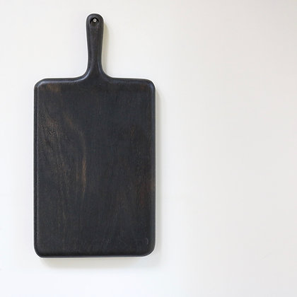 Simple Board in Blackened Oak - Large