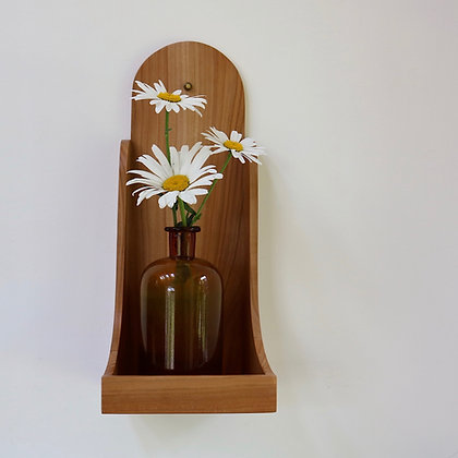 Large Wall Sconce in Cherry