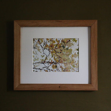 'Autumn Beech Leaves II' Painting